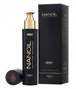 najlepszy w stylizacji włosów - olejek nanoil