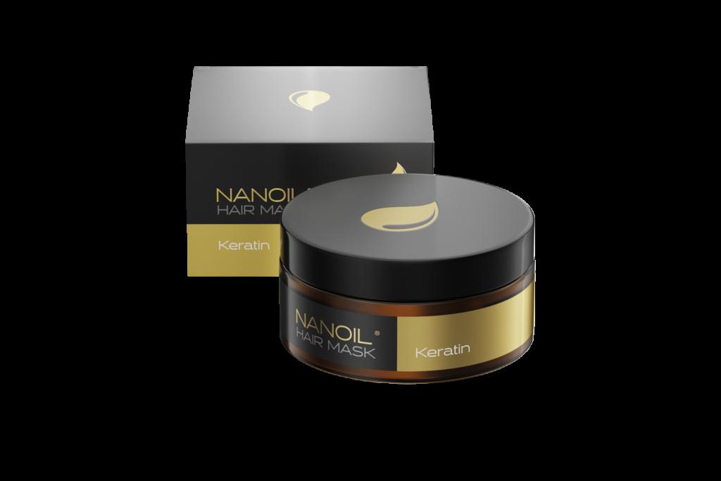 Zadbaj o włosy z najlepszą maską keratynową Nanoil
